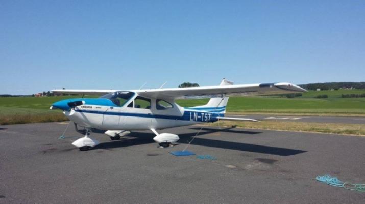 Et av klubbens fly